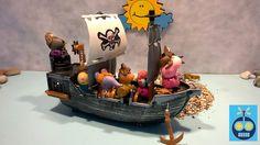 Мультик с игрушками Свинка Пеппа Пиратский клад - Остров пиратов