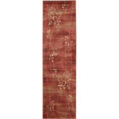 Nourison Summerfield Flame Rug (2' x 5'9)