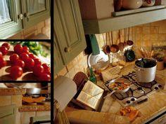 Cucina di campagna, rustica, classica ed accogliente