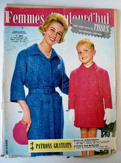 Femmes d'Aujourd'hui N°803 du 22/09/1960