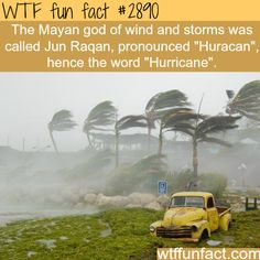 The Mayan god of wind - WTF fun facts