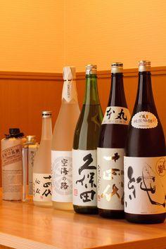 Japanese sake and shochu