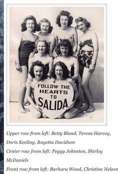 Follow your heart to Salida. 1944 Front Row, The Row, Colorado, Pin Up, Fishing, Heart, Aspen Colorado, Skiing Colorado, Peaches