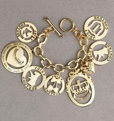 Juicy Couture charm bracelets