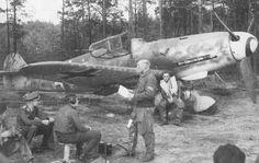 MesserschmittBf 109G-6 ,I./JG 52, Ebenrode 1944