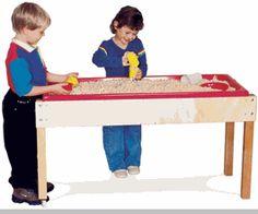 New Ideas for Sensory Tables in ECE – Preschool, Kindergarten
