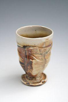 Wine Glass 34 Ceramic Pottery Ceramic Wine Goblet by WildfireClay