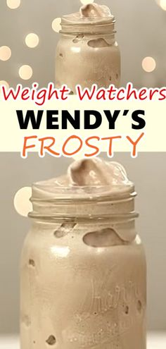 HOW TO MAKE A WENDY'S FROSTY – 3 POINTS – Weight Watchers Recipes