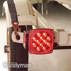 Trailer taillights get bounced around, dunked in the lake and soaked with road salt. So it's no surprise that bulb filaments break and sockets corrode, causing a lot of lighting malfunctions. Sealed LED trailer lights are a brilliant solution.