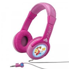 Disney Princess Happily Ever After Princess Headphones with built-in volume reduction to protect young kids' hearing