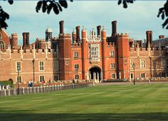 Hampton Court Palace -  In 1514 Cardinal Wolsey, Henry VIII's  first minister and political confidant, began building a palace on the site after acquiring the manor house. Eventually Wolsey fell from favour and the King took Hampton Court Palace for his own.