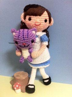 alicia en el pais de las maravillas amigurumi pagina japonesa