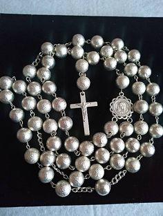 Strieborný ruženec Ag 925/1000 E074 / mindarka - SAShE.sk Brooch, Diamond, Bracelets, Jewelry, Brooch Pin, Charm Bracelets, Jewellery Making, Jewlery, Brooches