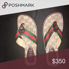 b55200f07eb6 Gucci flip flops They are in good condition only worn once Gucci Shoes  Sandals Fashion Tips