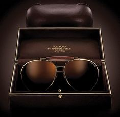 Tom Ford | Aviator Sun Glasses....Covet.