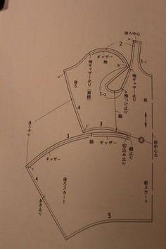 A dress in one piece (Japanese 'DrapeDrape' book) - robe cousue avec une seule pièce de tissu
