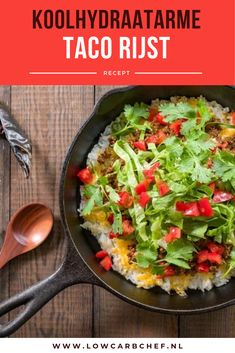 Low Carb Recipes, Cooking Recipes, Rice Dishes, Risotto, Healthy Lifestyle, Food And Drink, Keto, Dining, Salad