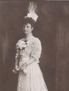 Princess Maria Immaculata of Bourbon-Two Sicilies (10-30-1874    11-28-1947) wife of prinz Johann Georg von Sachsen