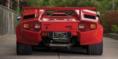 The evolution of Lamborghini's supercars