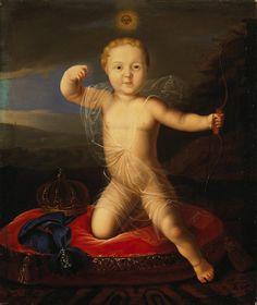 Portrait of Tsarevich Piotr Petrovich as a Child