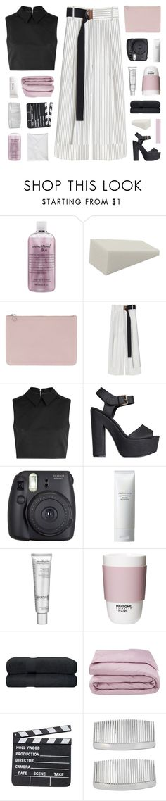 """""""WALDGEIST"""" by bosspresident ❤ liked on Polyvore featuring philosophy, Alexander McQueen, TIBI, McQ by Alexander McQueen, Nly Shoes, Fuji, Shiseido, Algenist, ROOM COPENHAGEN and Frette"""