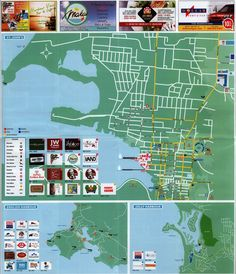 Large detailed tourist map of Antigua and Barbuda Antigua