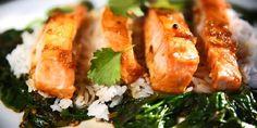 Asiatisk laks - Slik blir den asiatiske laksen god... I oppskriften finner du lime, soya og chili og hvitløk.