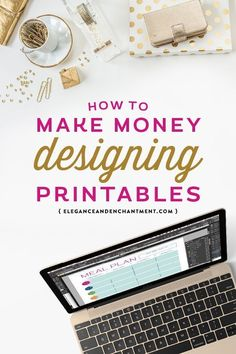 Is it really possible make a career out of designing printables? You bet! Here are 10 ways to make money and build a creative business built on the foundation of printable design. From Elegance and Enchantment. make money from home, make extra money Make Money Blogging, Make Money From Home, Way To Make Money, Make Money Online, How To Make, Money Fast, Hobbies That Make Money, Quick Money, Creative Business