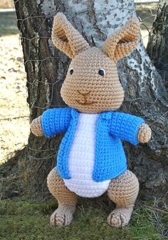 Mischievous Rabbit PDF Pattern by WholeKnitandCaboodle on Etsy