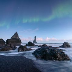Vik Beach, Iceland - The World's Most Colorful Beaches - Coastal Living