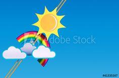 Sommerwetter, Urlaubsgrüße, Wetteraussichten, heiter, sonnig