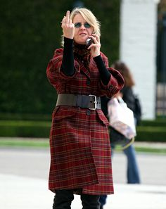 Diane Keaton (2006)  Not just all races and creeds—but all ages, too, can flip the bird.