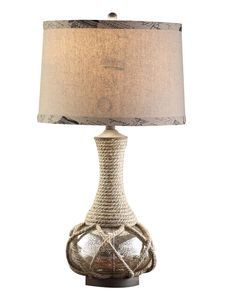 """Freeport 30"""" H Table Lamp with Drum Shade"""