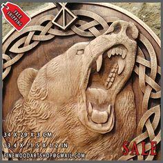 Berserk Tyr Fenrir Wolf Odin Viking Valhalla Bear Norse Thor