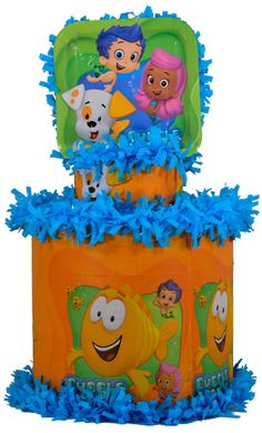 World of Pinatas - Bubble Guppies Pinata, $27.99 (http://www.worldofpinatas.com/bubble-guppies-pinata/)