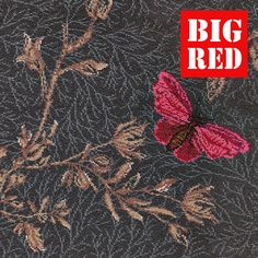 Noir Ruskin Butterfly - 8/50155 | Timorous Beasties Collection: Brintons Carpets - Best prices in the UK from The Big Red Carpet Company