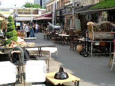 Flea Market, Paris, France