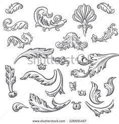 барокко рисунки карандашом - Поиск в Google