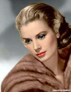 Grace Kelly (colorized)