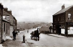 The street known as the Castle, New Cumnock, East Ayrshire, 1890's