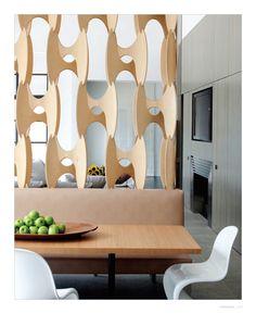Love That Floor To Ceiling Room Divider Mid Century Boomerang Mid Century Modern Pinterest
