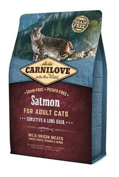 Carnilove Duck & Pheasant Cat Food with Hairball Control - CARNILOVE Duck & Pheasant for Adult Cats has been formulated with respect for the natural composition of the feline diet. Reindeer Meat, Les Croquettes, Troubles Digestifs, Forest Fruits, Fresh Chicken, Dry Cat Food, Formulas, Pheasant