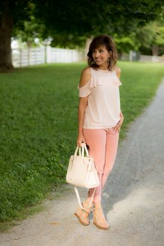 Pastel Outfit from LOFT
