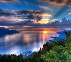 Caux (Canton du Vaud) - Lake Geneva / Genfersee / Lac Leman