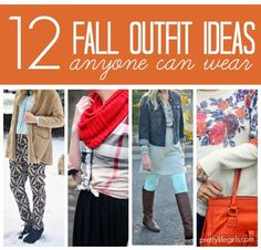 Pretty Life Girls - Fall outfits anyone can wear!