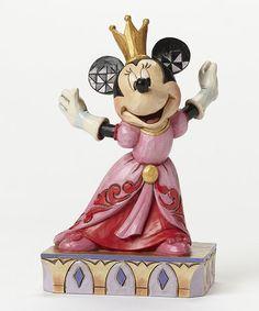 Loving this Disney Minnie Queen for a Day Figurine on #zulily! #zulilyfinds