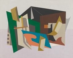 Whitney Museum of American Art: Stuart Davis: Egg Beater No. 1, 1927