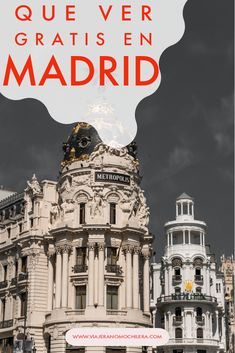 Moving On In Life, Madrid, Traveling, Europe, Random, Movie Posters, Places To Travel, Budget Travel, Travel Themes