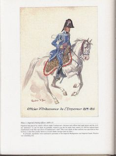 Command and staff: Plate 3: Imperial Orderly Officer, 1809-15.