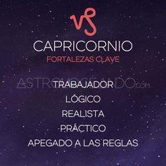 FORTALEZAS CLAVE CAPRICORNIO